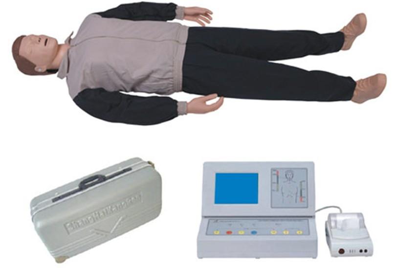 大屏幕液晶彩显高级电脑心肺复苏模拟人ST